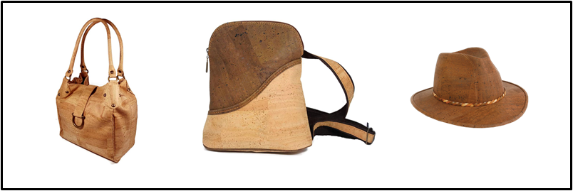 Cork Backpack Handbag Cowboy Hat