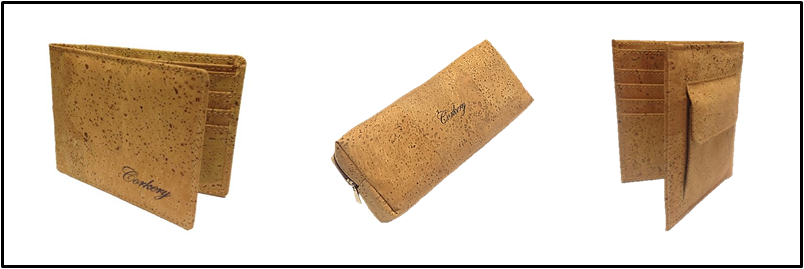 Cork Wallets and make up case