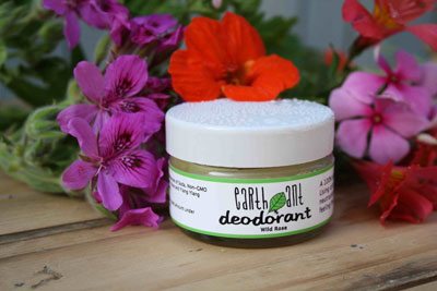 Earth ant deodorant wild rose props small 1