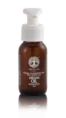 Facial-Cleansing-Gel-with-Moroccan-Argan-Oil