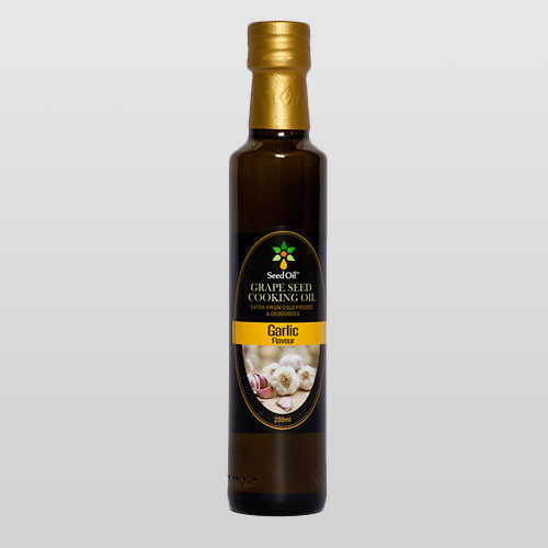 Garlic Grape Seed Oil Product