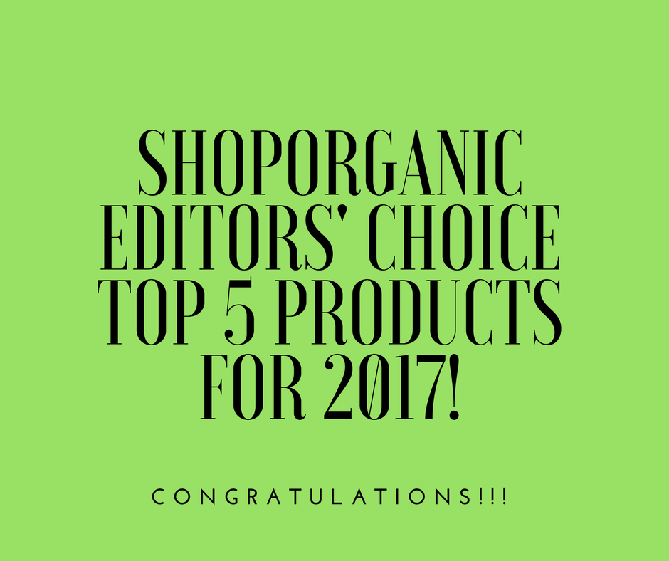 shoporganic top 5 2017 fb post